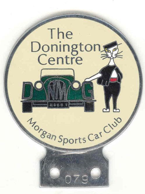Morgan Sports Car Club DON MOG badge, 1980s