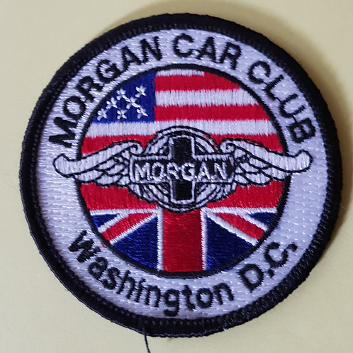 Morgan Car Club Washington DC patch