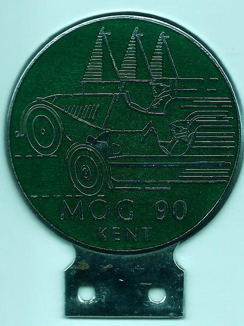 MSCC, MOG 90 KENT, CAR BADGE