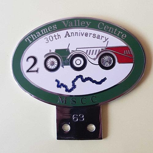 MSCC Thames Valley badge, 2000
