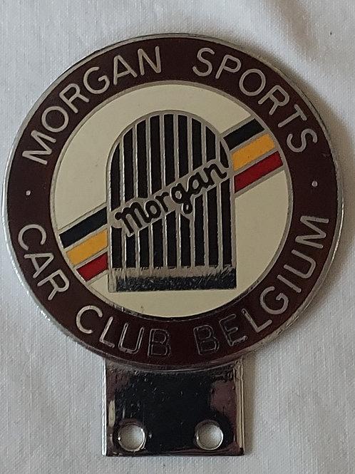 Morgan Sports Car Club Belgium badge 1970s