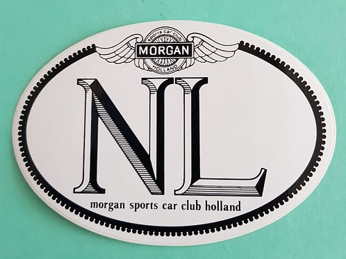 Morgan Sports Car Club Holland NL-sticker