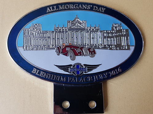 All Morgans' Day, Blenheim Palace, 2016