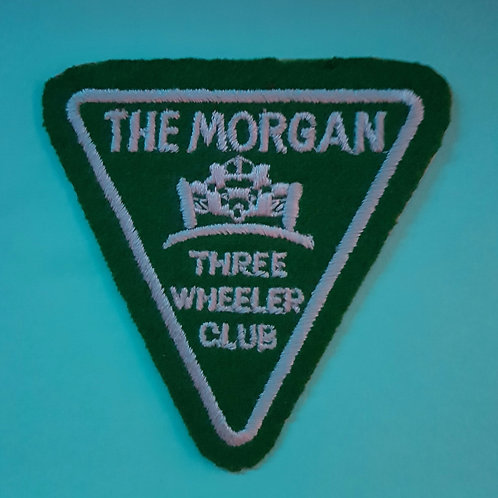 Morgan Three Wheeler Club patch, green