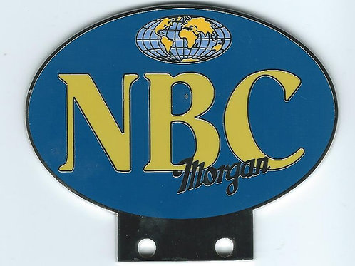 Naughty Boys Club Morgan badge, blue background