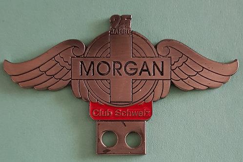 Morgan Club  Schweiz, 25th anniversary badge