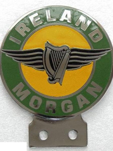 Morgan Ireland car badge