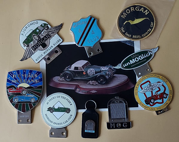 Collectable Morgan items