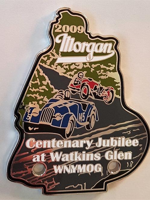 Morgan Centenary Watkins Glen 2009 badge