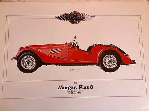 Morgan +8 poster Karl-Heinz Hornberg