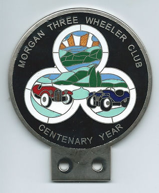 3 Wheeler Badges