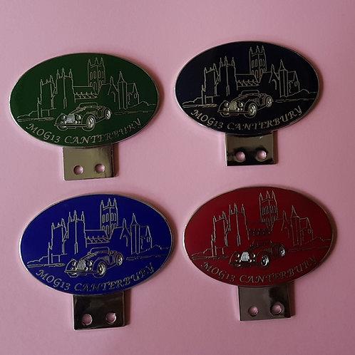MOG 2013 Canterbury badges, set of 4