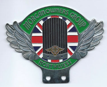 Morgan Owners Group Northwest badge