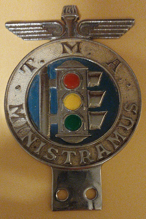 T.M.A.  Ministramus car badge