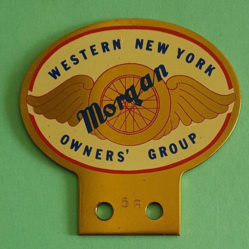 Western New York Morgan Owners Group badge