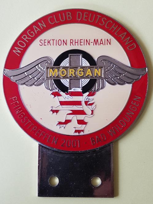 Morgan Club Deutschland, Sektion Rhein Main 2001