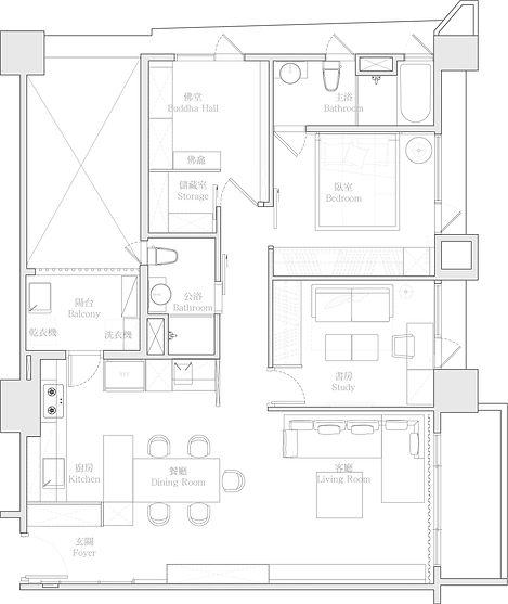 有璽室內設計 YX Interior Design | Project H