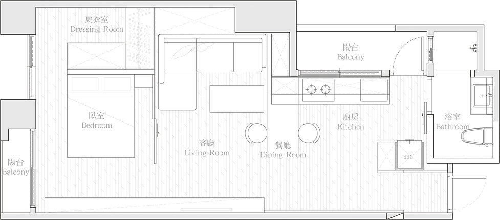 有璽室內設計 YX Interior Design | Project HU