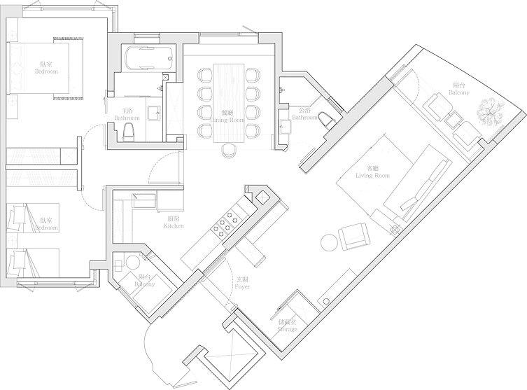 有璽室內設計 YX Interior Design | Project Z Shanghai