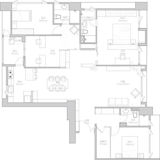 有璽室內設計 YX Interior Design | Project C