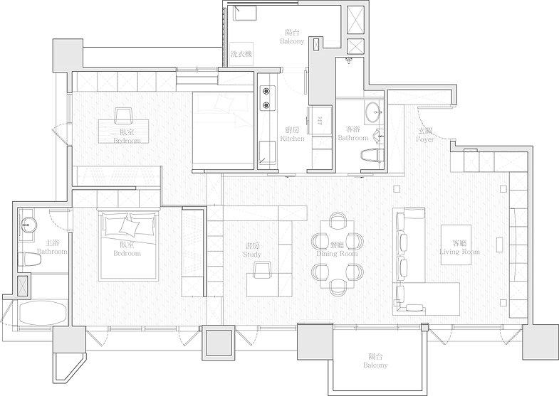 有璽室內設計 YX Interior Design | Project ZH
