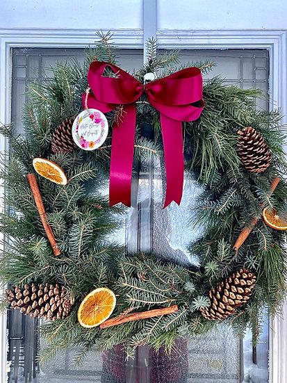 "18"" Decorated Wreath"