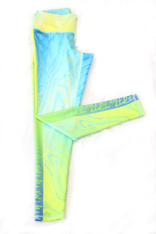 FlexFit Marbled Green