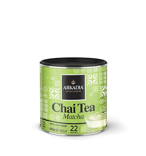 Arkadia Chai Tea Matcha (440g)