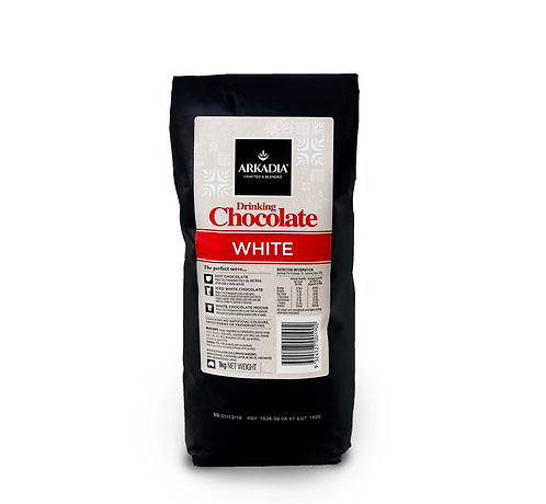 Arkadia White Drinking Chocolate (1kg)