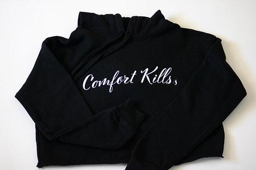 Comfort Kills | Cropped Hoodie