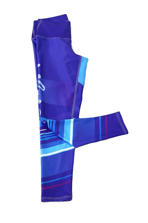 Electric Blue Leggings