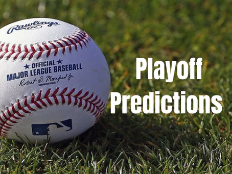 Playoff Prediction: World Series (April)