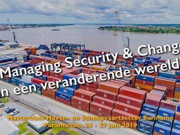 Succesvolle Masterclass Haven- en Scheepvaartsector Suriname