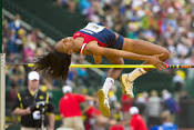 Brigetta Barrett - 6 x NCAA High Jump Champion