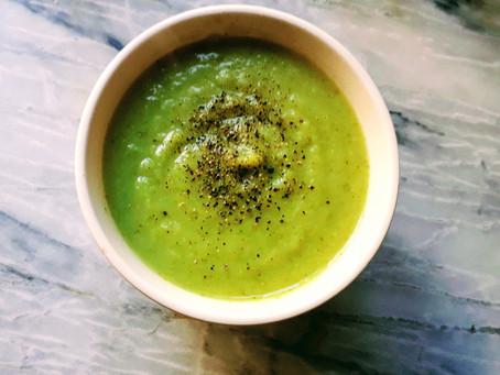 Recept PuurMendel: broccoli-knolselderijsoep!