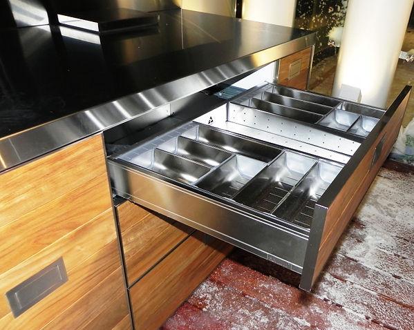 ящики для кухни из нержавеющей стали (2)