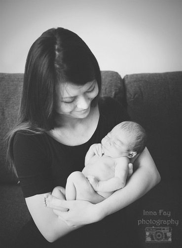 And about family (newborn session part II)