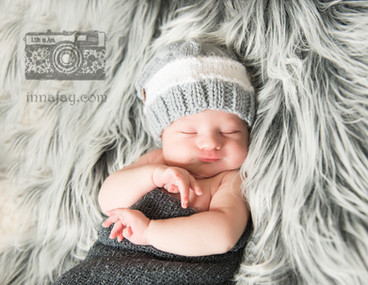 The cutest baby boy in his newborn session