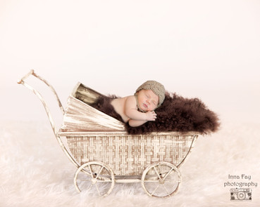 Newborn photography NYC: baby boy