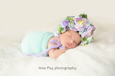 Baby girl is here or Newborn photo shoot for the cutest princess!