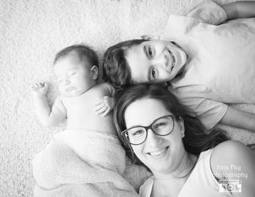 Amazing  family welcoming baby girl