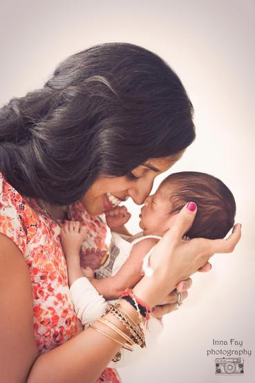 Beautiful newborn photo shoot