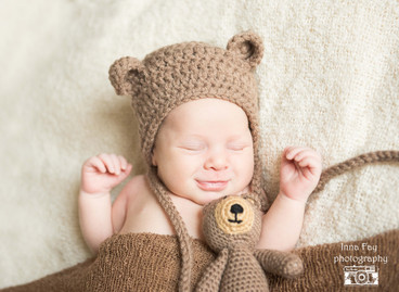 Amazing newborn session for baby boy