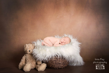 Newborn photo session for a wonderful baby boy