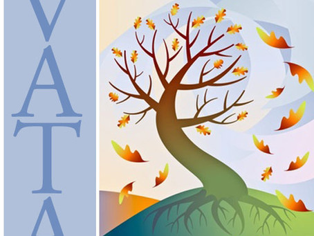 """Fall is here...Simple Ayurveda types to stay healthy this """"Vata"""" season."""