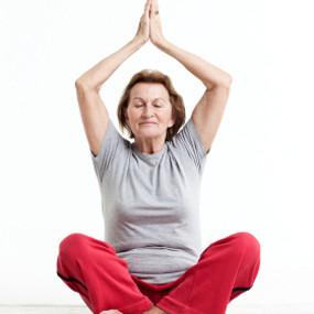 Gentle yoga can help lower blood pressure