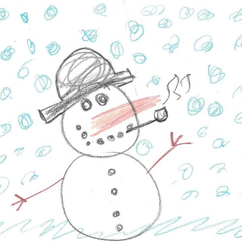 """""""THE SNOWMAN"""" by Glide Thunderbolt"""