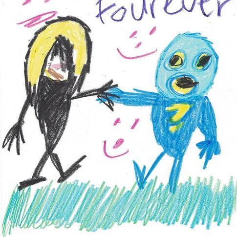 """""""FRENDS FOUREVER"""" by Glide Thunderbolt"""