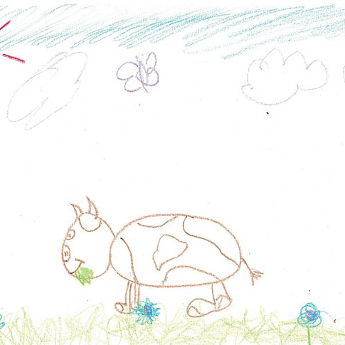 """""""THE COW"""" by Glide Thunderbolt"""