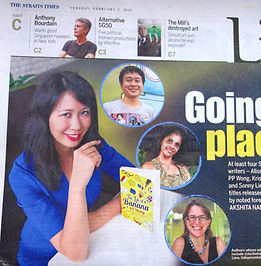PP Wong, The Life of a Banana, Book launch